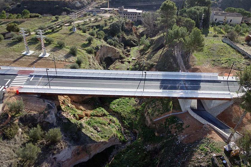 Conexión viaria barrios Batoy y Sta Rosa