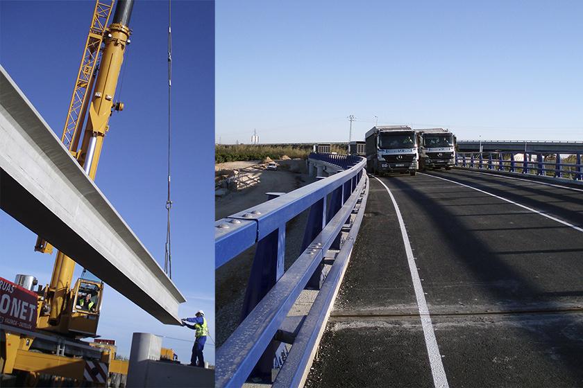 Prologación del puente Riola