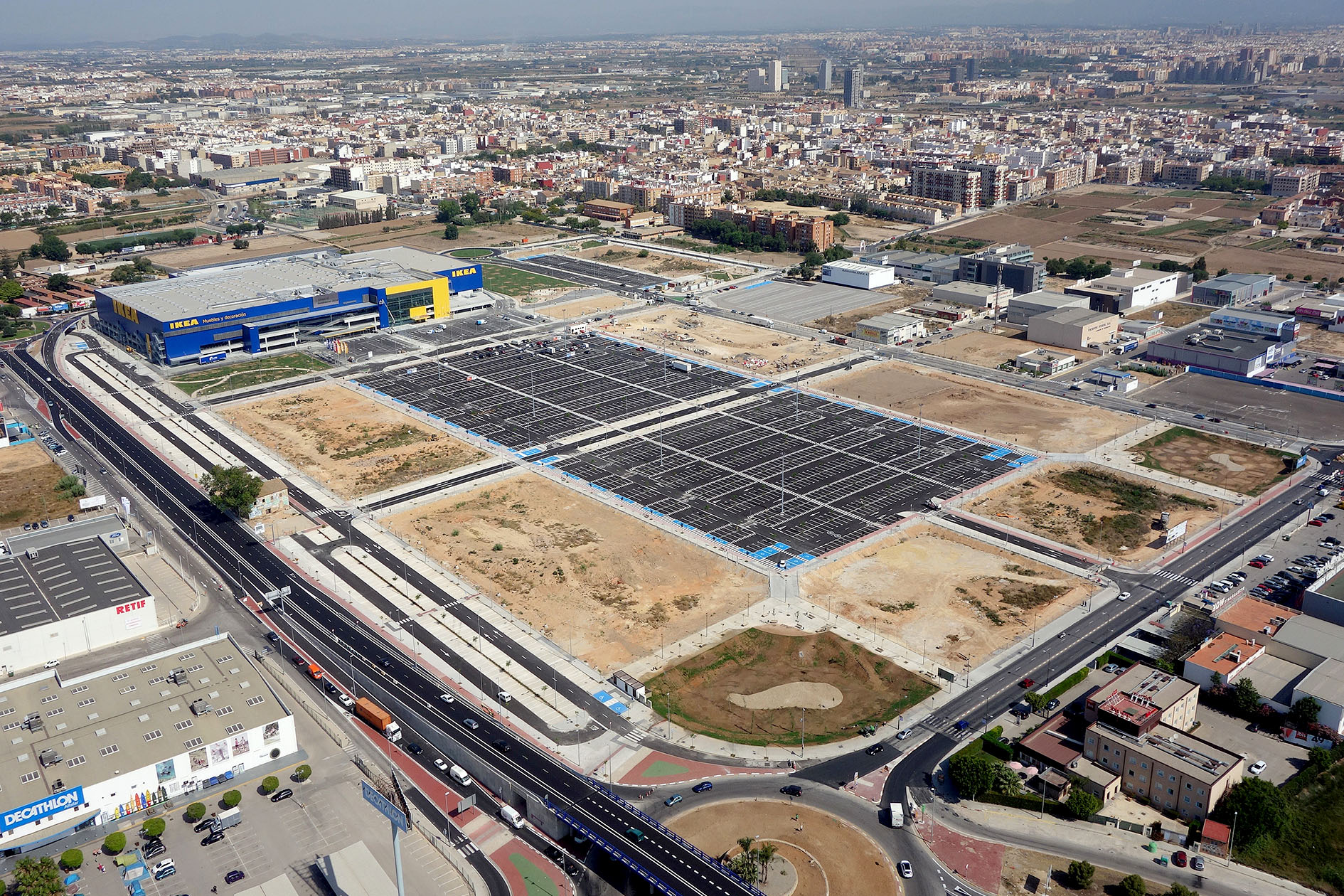 Urbanización Sector 1AB SNUP PGOU Alfafar