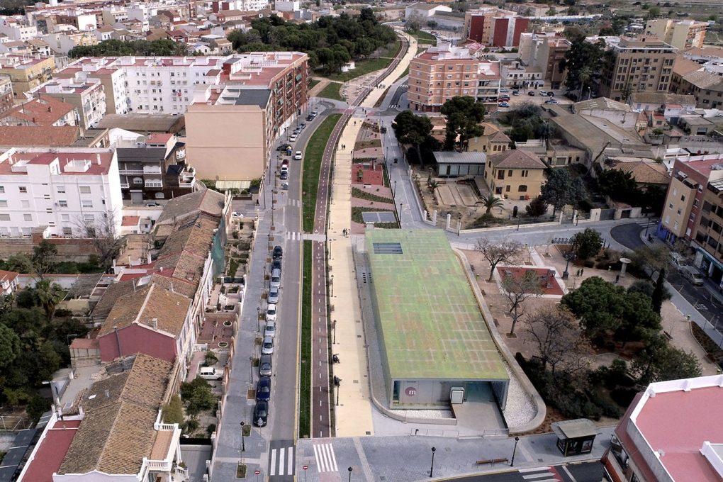 Urbanización Parque Lineal Benimámet