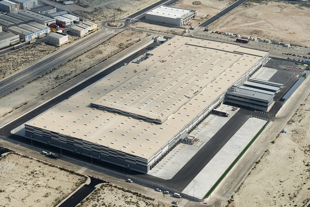 Plataforma Logística LIDL Lorquí - Murcia