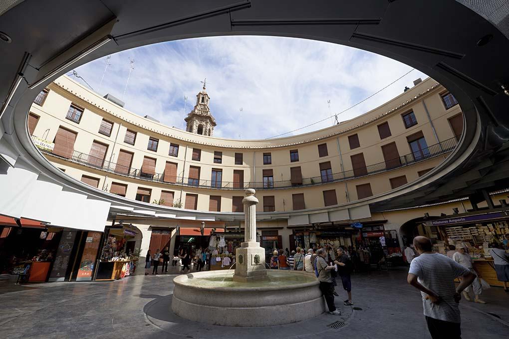 Plaza Redonda de Valencia